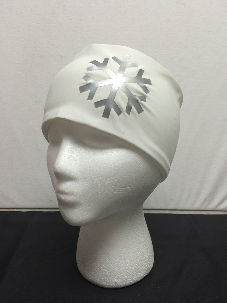 Snowflake White Headband