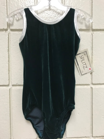 Velvet Irish Green Tank Bodysuit