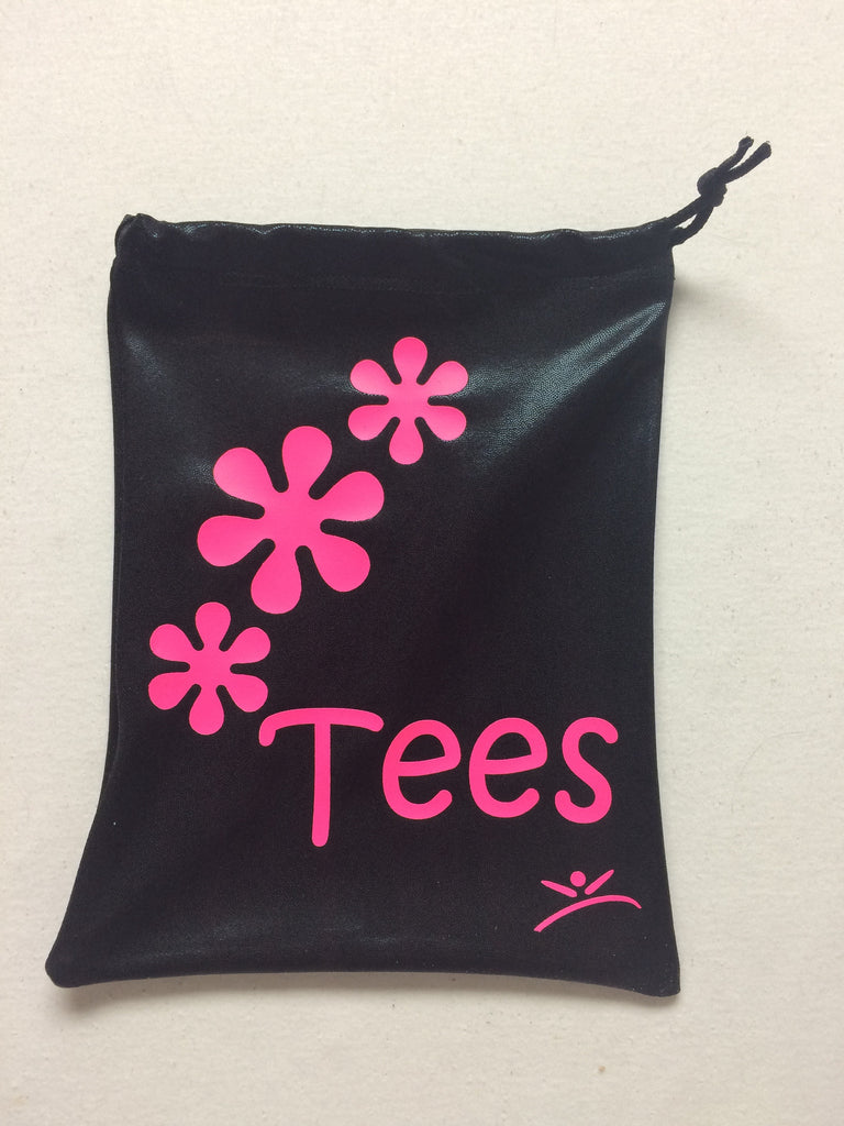 Golf flower power bag for tees