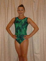 Sea Grass- Green Tank Bodysuit