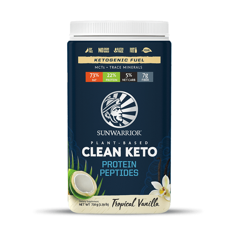 Sunwarrior Clean Keto Tropical Vanilla  720 Gr.