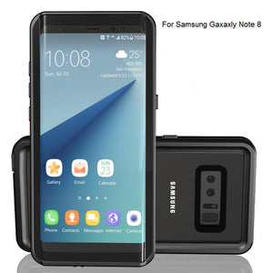 check out 3945f 8a6c6 Waterproof Galaxy Note8 case IP68 life water Shock Dirt Snow Proof  Protection for Samsung Galaxy Note 8 With Touch ID Cover