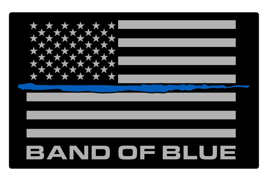 Band of Blue Decal