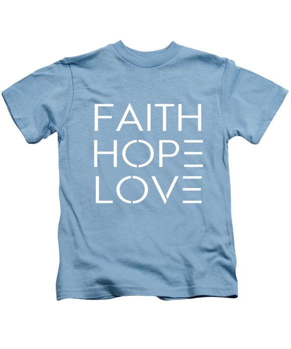 Abstract Faith - Kids T-Shirt - Coastal Faith