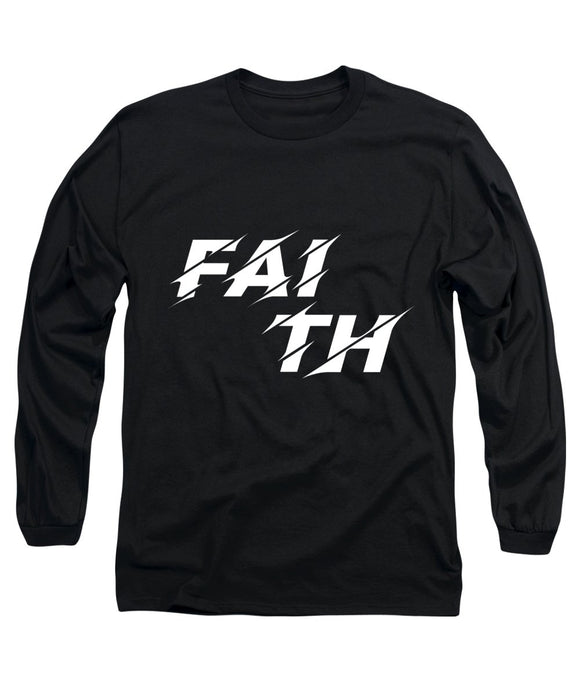 Faith Rocks Long Sleeve T-Shirt - Coastal Faith