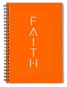 Faith Star Bible Journal Notebook - Orange - Coastal Faith
