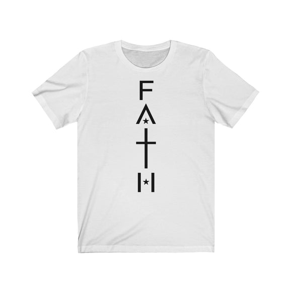 Faith Star Unisex Jersey T-Shirt - Coastal Faith