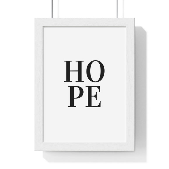 Hope Art Print - Framed - Coastal Faith