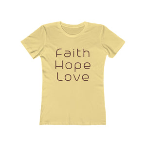Modern Faith Women's Boyfriend T-Shirt - Coastal Faith