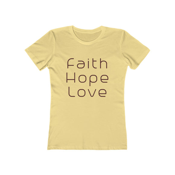 Modern Faith Women's Boyfriend Bible T-Shirt - Coastal Faith