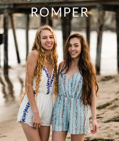 Women's Rompers + Jumpsuits
