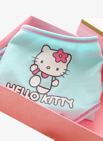 Cute Blue Hello Kitty Panties