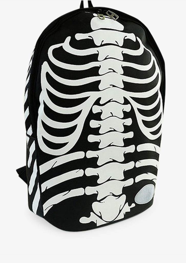 Skeleton Backpack in Black