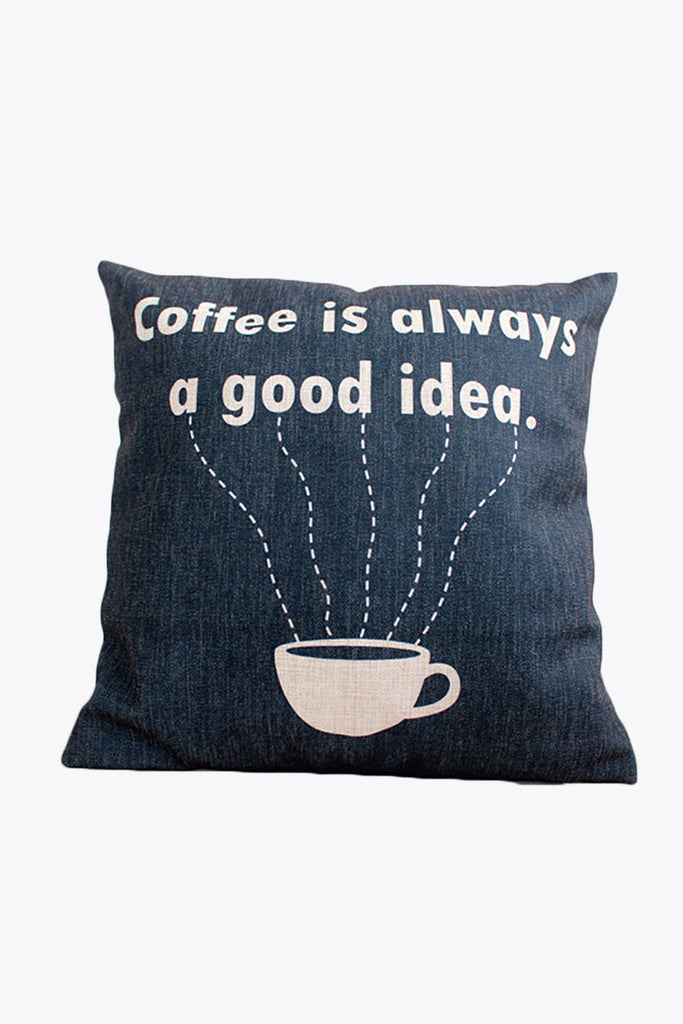Coffe Time Pillow