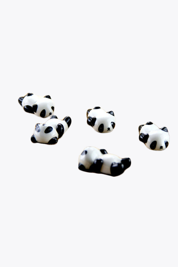 Cute Ceramic Little Panda Chopsticks Holder