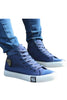 Logo Patch High Top Sneakers