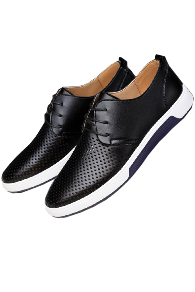 Hollow Out Lace Up Shoes