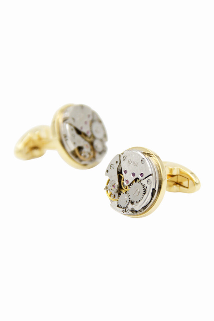 Gold Men's Cufflinks