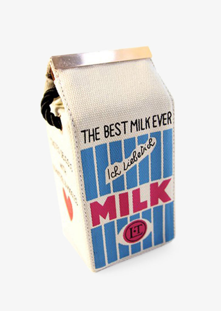 Milk Box Shape Cream Bag