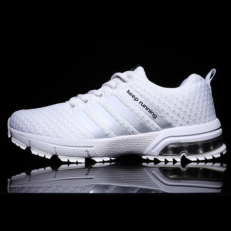 White Breathable Sneakers