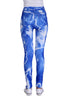 Blue Lightning Bolt Leggings