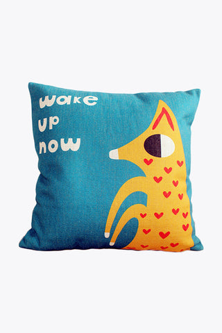 Little Fox Asks You Wake Up Pillow
