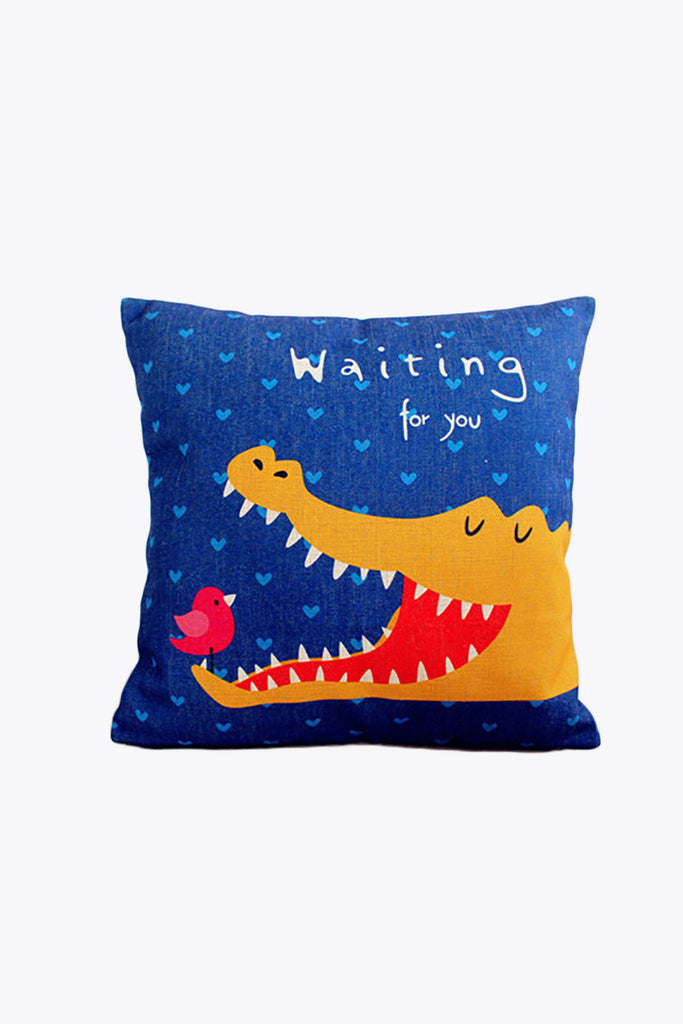Cute Crocodile Prints Pillow