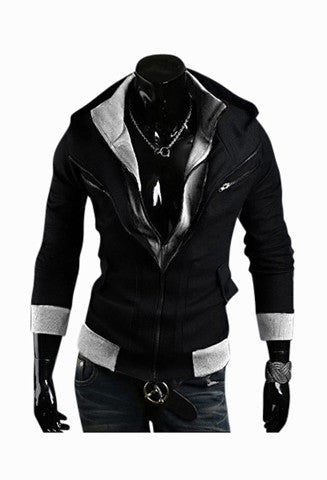 Slim Fit Black Jacket