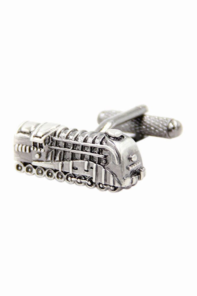 Vintage Train Men's Cufflinks With Gift Box