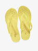 Yellow Colored Flip Flops