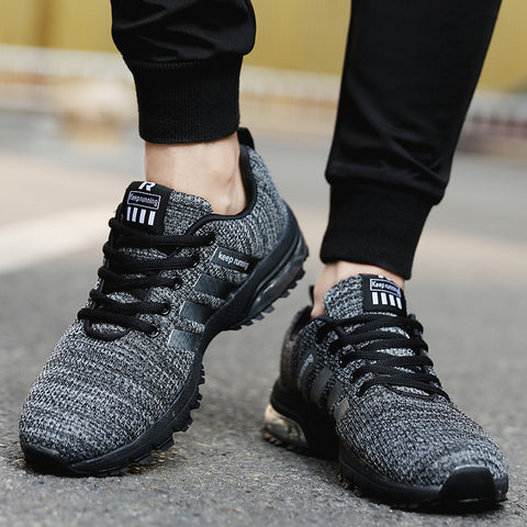 Black Breathable Sneakers