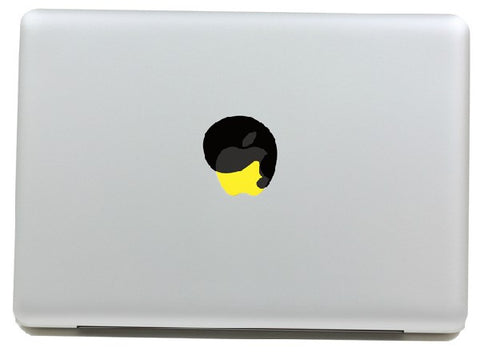 Macbook Hair Decal Sticker. Art Decals By Moooh!!