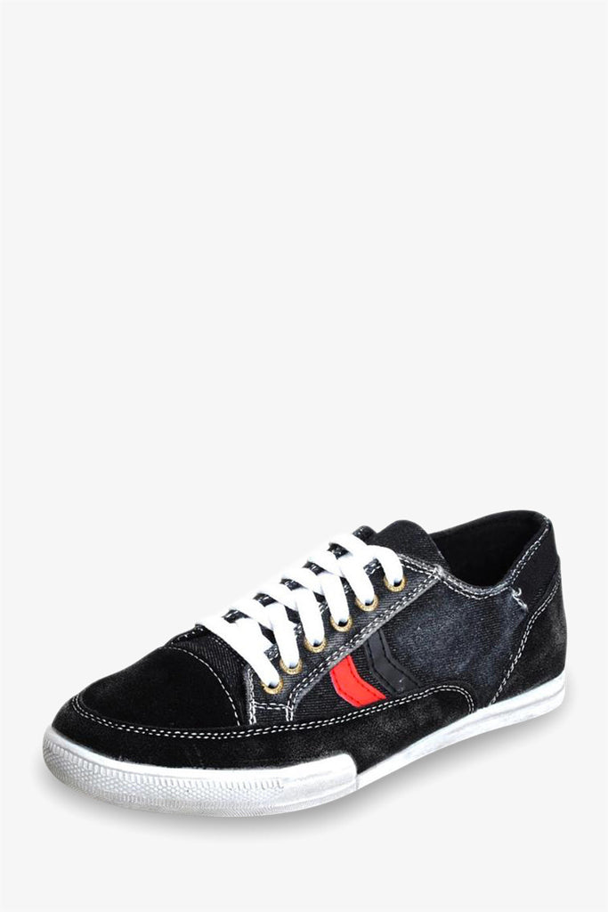 Jean Style Sneakers In Black