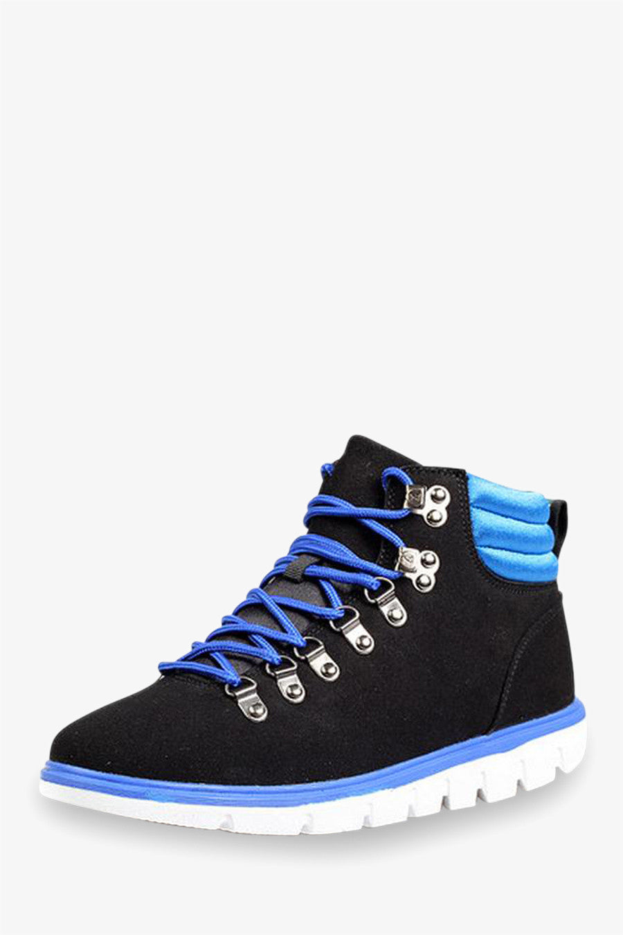 Cozy Boots Black and Blue