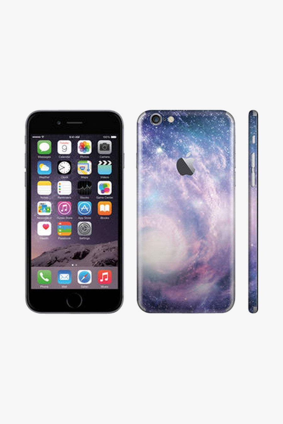 Iphone Nebula Vinyl Decal Sticker