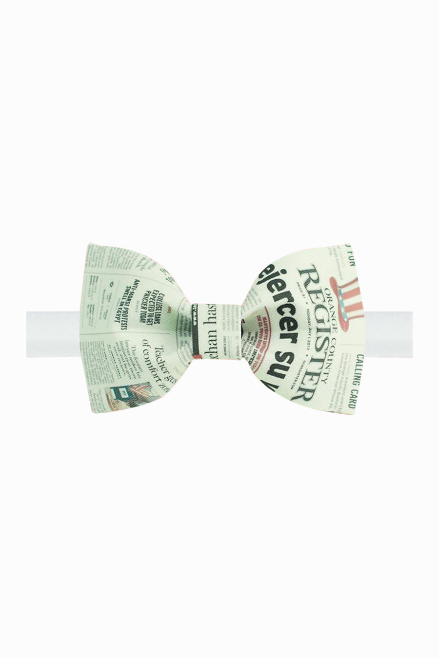 Newspaper Bow Tie