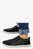 Low Top Rivets Sneakers In Black