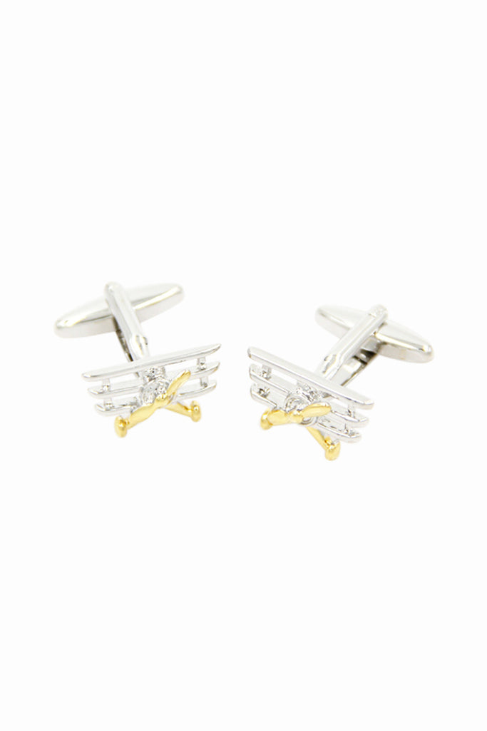 Aircraft Design Cuff Links