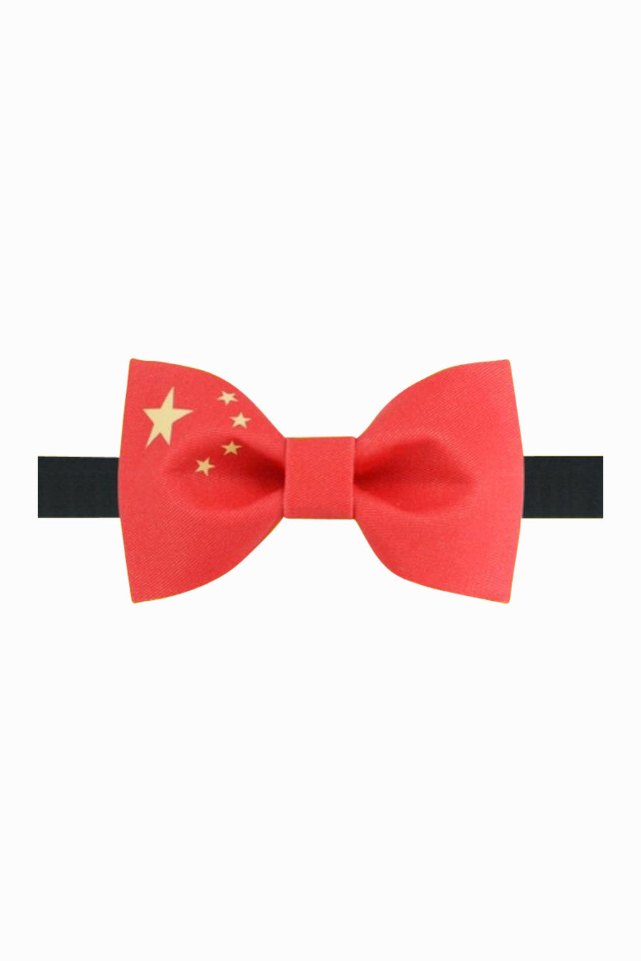 Chinese Flag Bow Tie