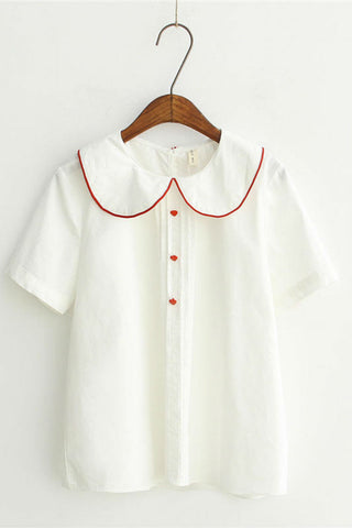 Dolly Shirt In White