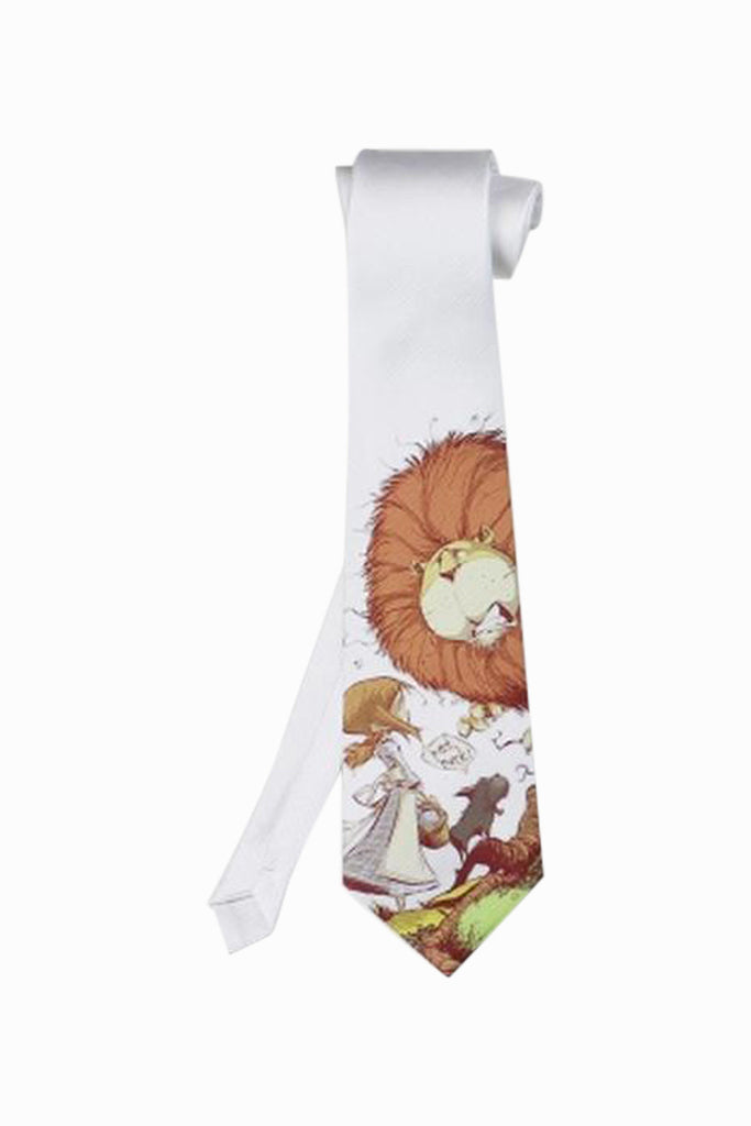 Lion and Girl Tie