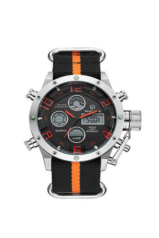 Military Chronograph Date Men Wirst Watch