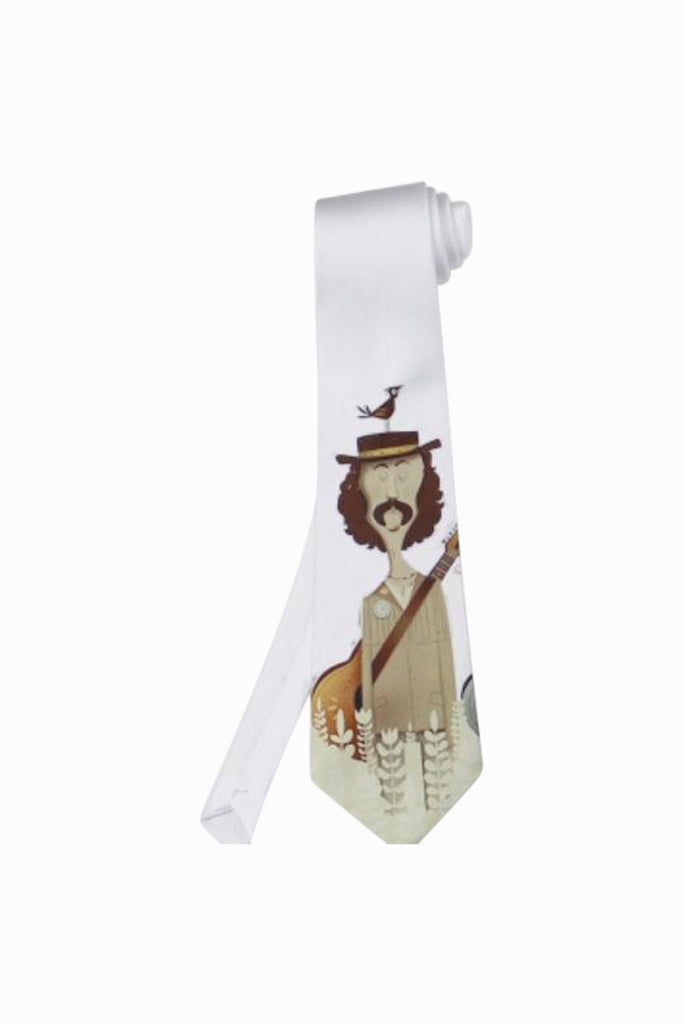Graham Nash Inspired Tie