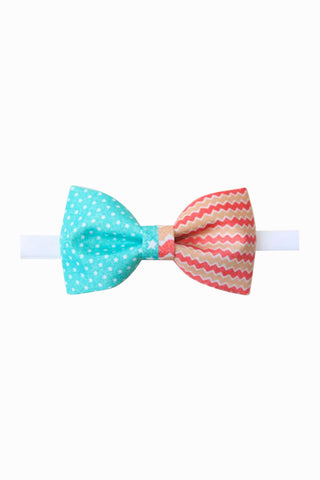 Stars And Waves Fancy Bow Tie