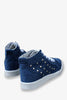Fashion Rivets Sneakers In Navy