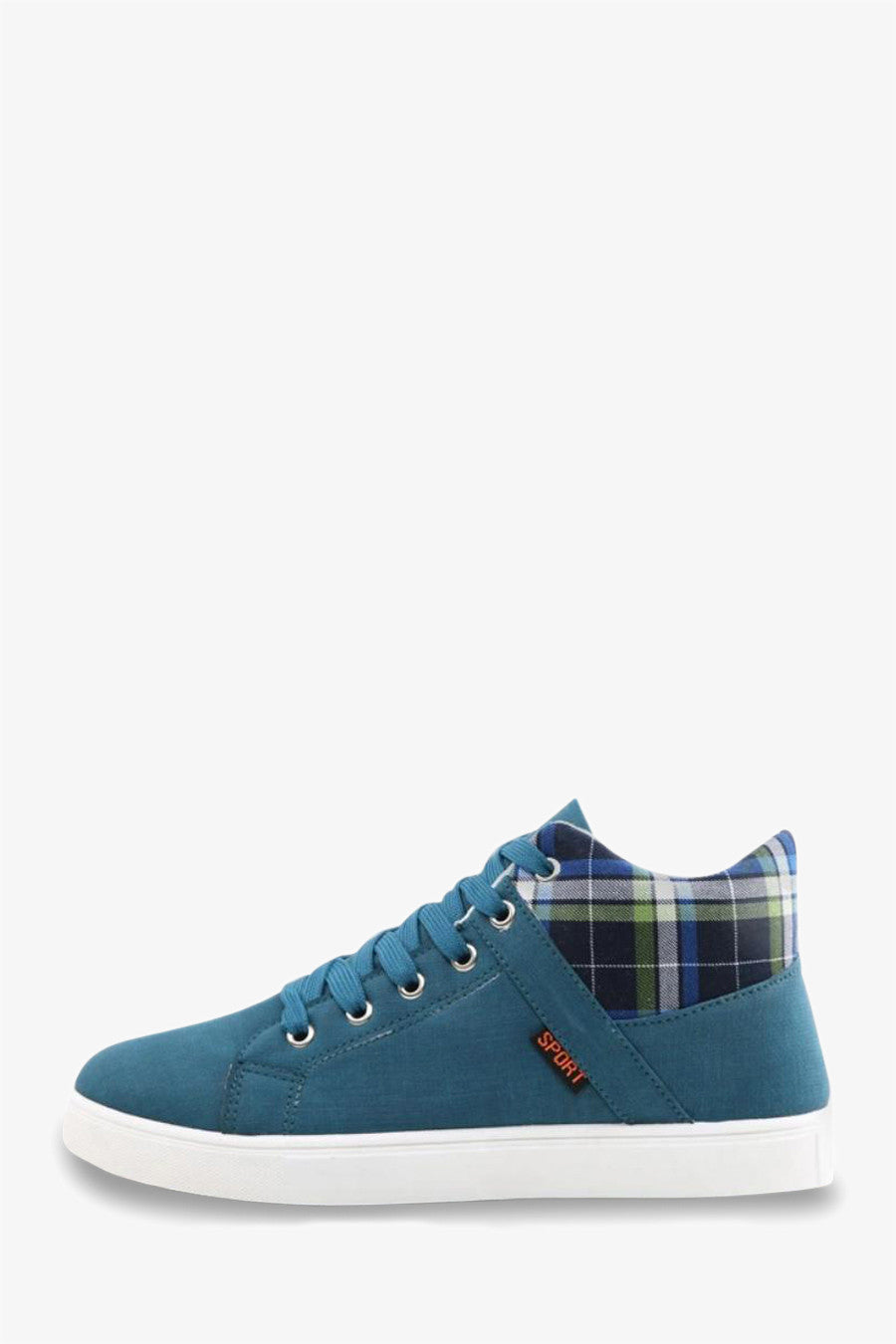 Cool High Top Sneakers In Blue
