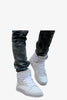 Patent Leather Boots In White