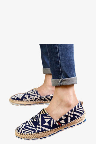 Classic Men's Sneakers In Navy