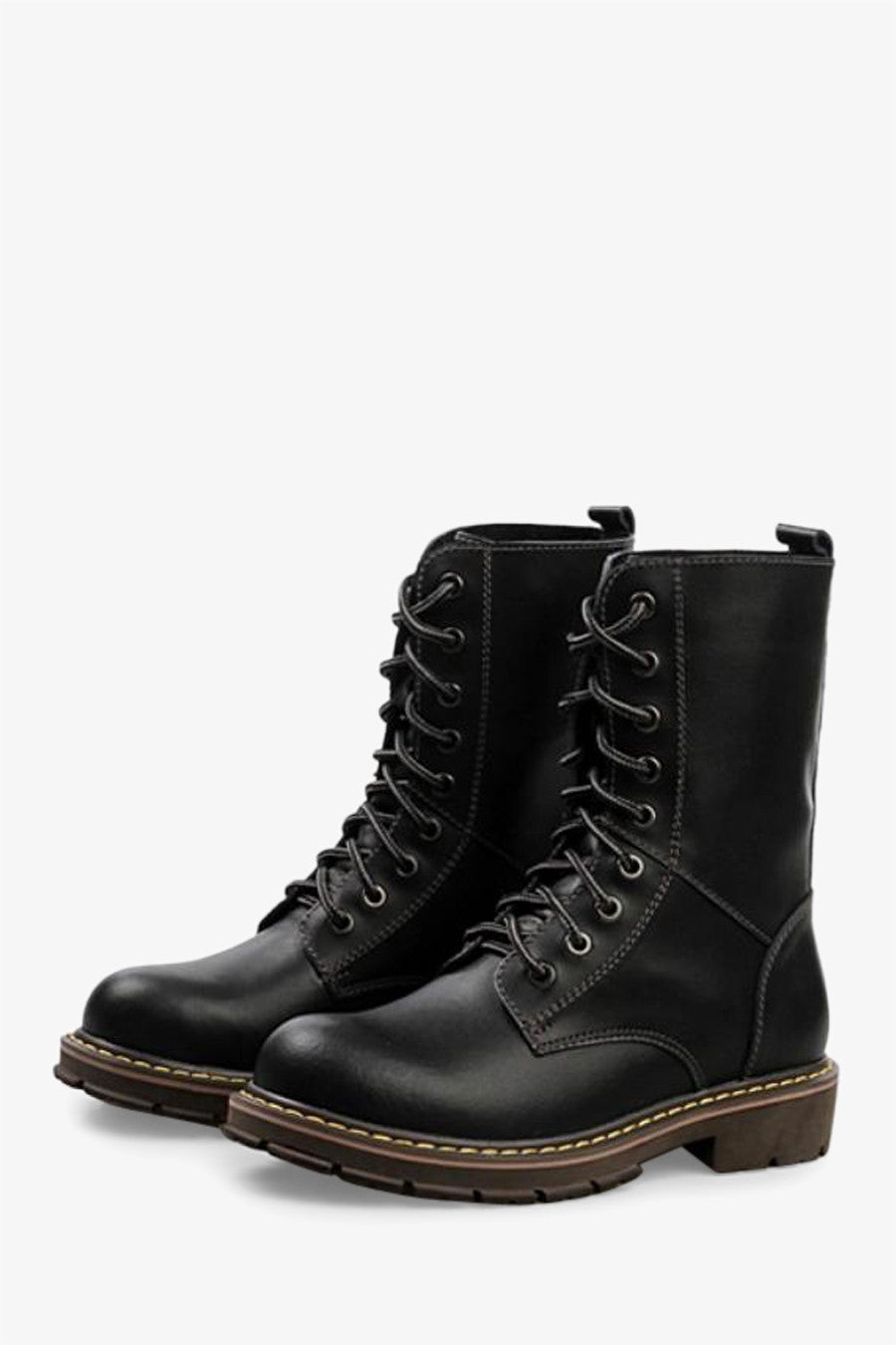 Martin Boots In Matte Black