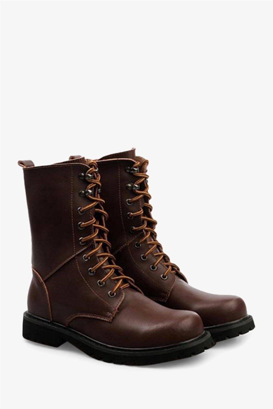 Martin Boots In Matte Brown